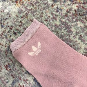 adidas Other - Adidas sparkly pink socks (M-L)